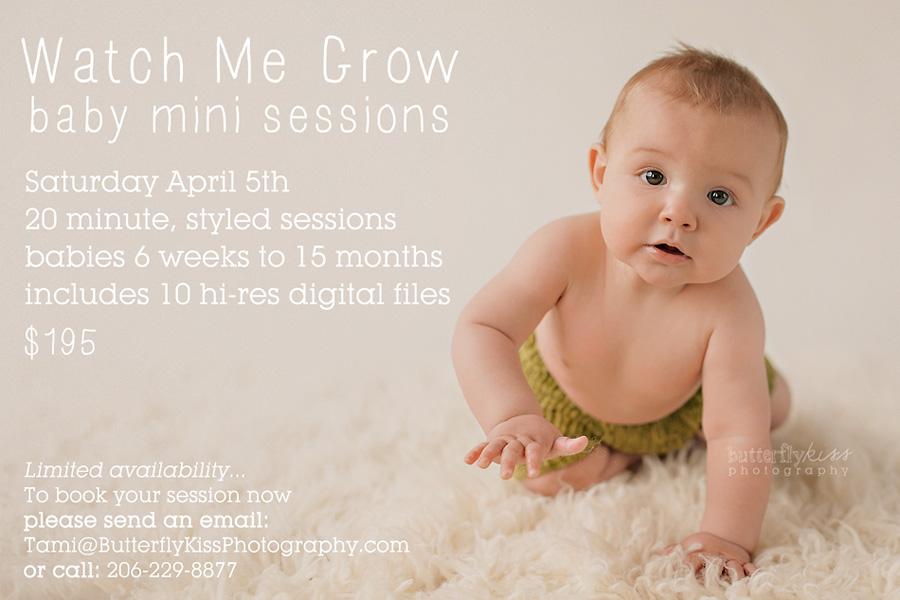 April mini session ad