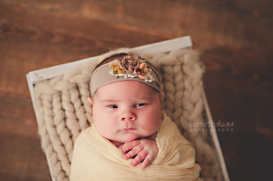 rustic wood vintage wool soft floral earthy neutral newborn baby tacoma