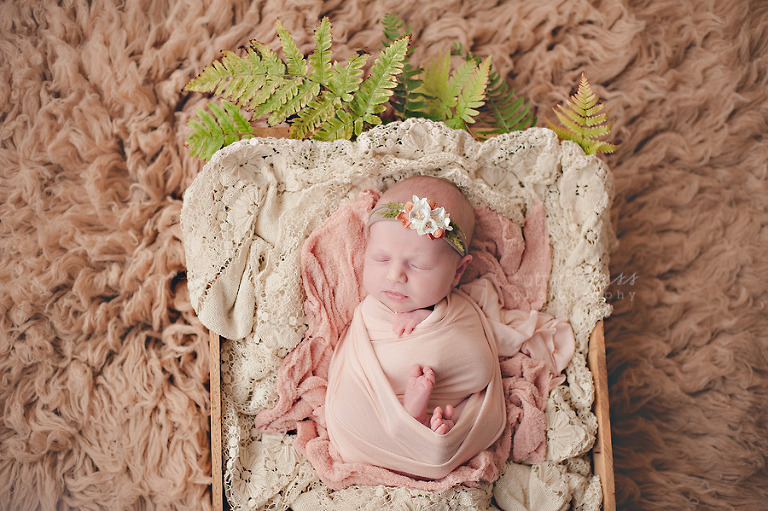 Tacoma earthy newborn girl 2