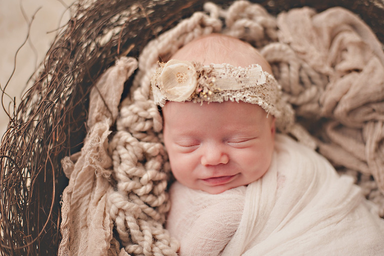 twins seattle newborn photography earthy nest smile