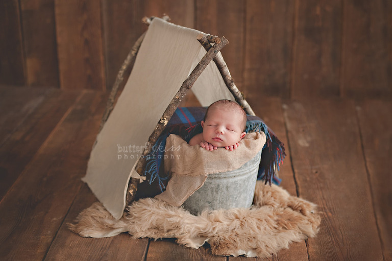 puyallup tacoma organic newborn camping tent Pacific Northwest baby bodhi earth tones peek a boo wool plaid sheepskin