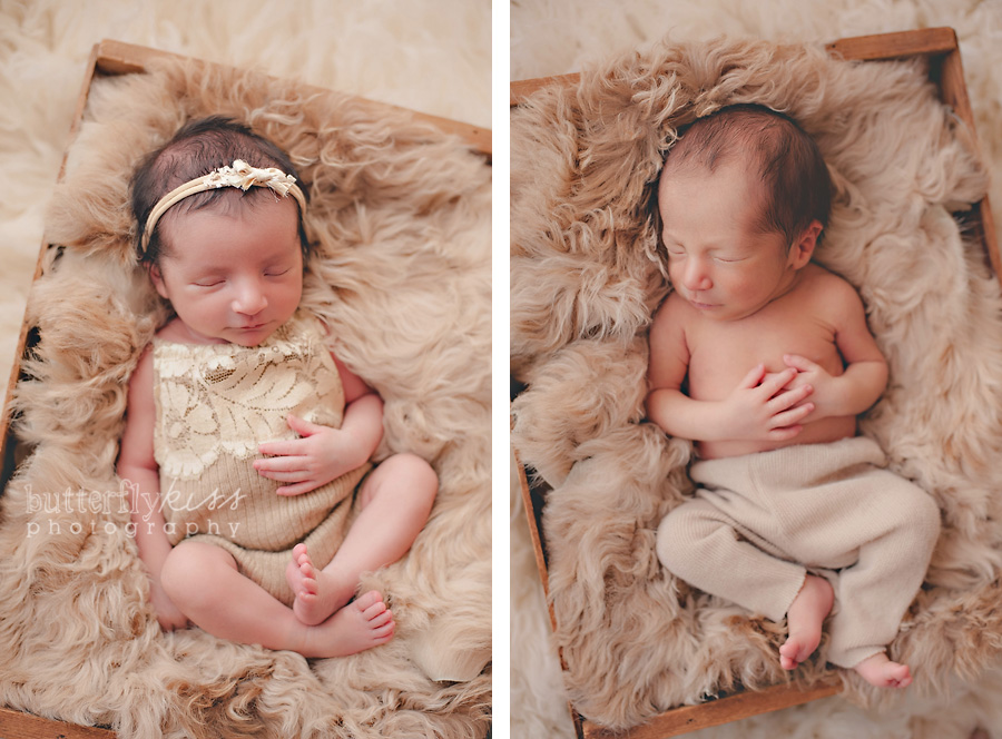 Seattle Puyallup Tacoma Olympia Newborn Baby Boy Girl Twin Twins Photographer  Organic Natural Studio Butterfly Kiss Photography