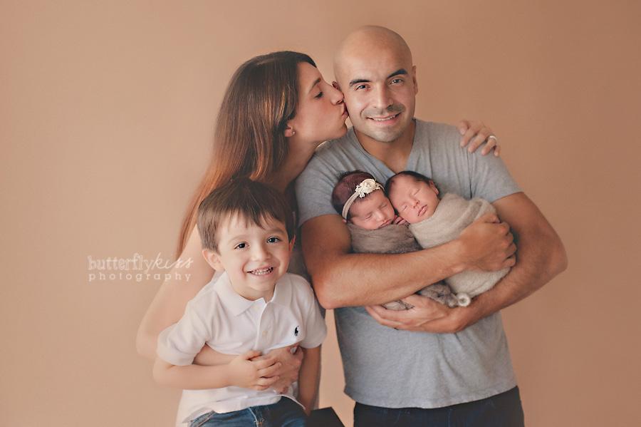 Tacoma newborn boy girl twin photographer leo mila tacoma newborn photographer butterfly kiss photography