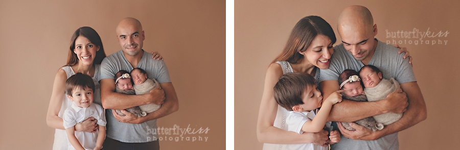 Seattle Puyallup Tacoma Olympia Newborn Baby Boy Girl Twin Twins family Photographer  Organic Natural Studio Butterfly Kiss Photography