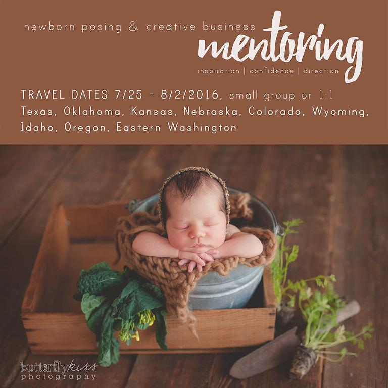 newborn posing creative photography business mentoring workshop travel Texas Oklahoma Kansas Nebraska Colorado Wyoming Idaho Oregon Washington