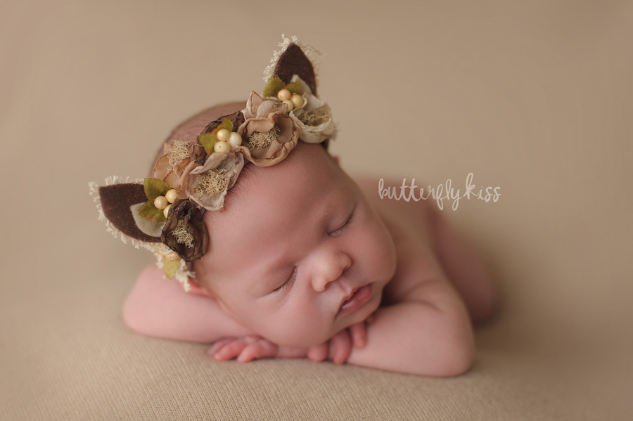 Organic Tacoma Newborn Photographer baby squirrel