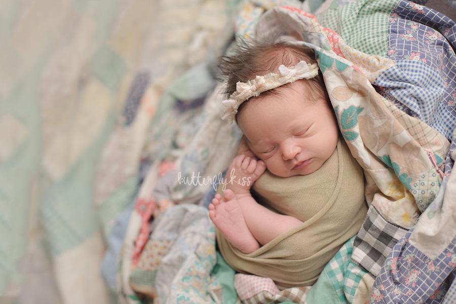 Tacoma Newborn Photographer baby Tatum sibling