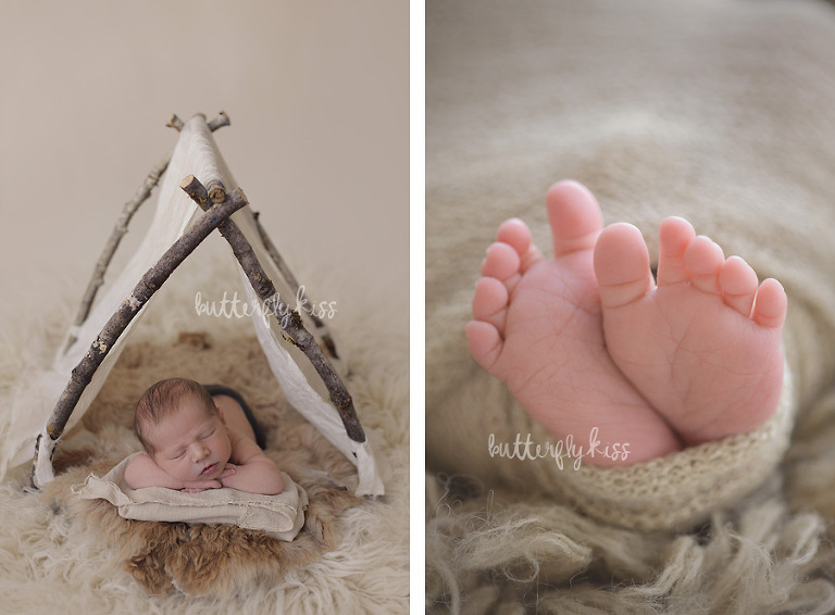 Seattle Newborn Photographer Baby Huck
