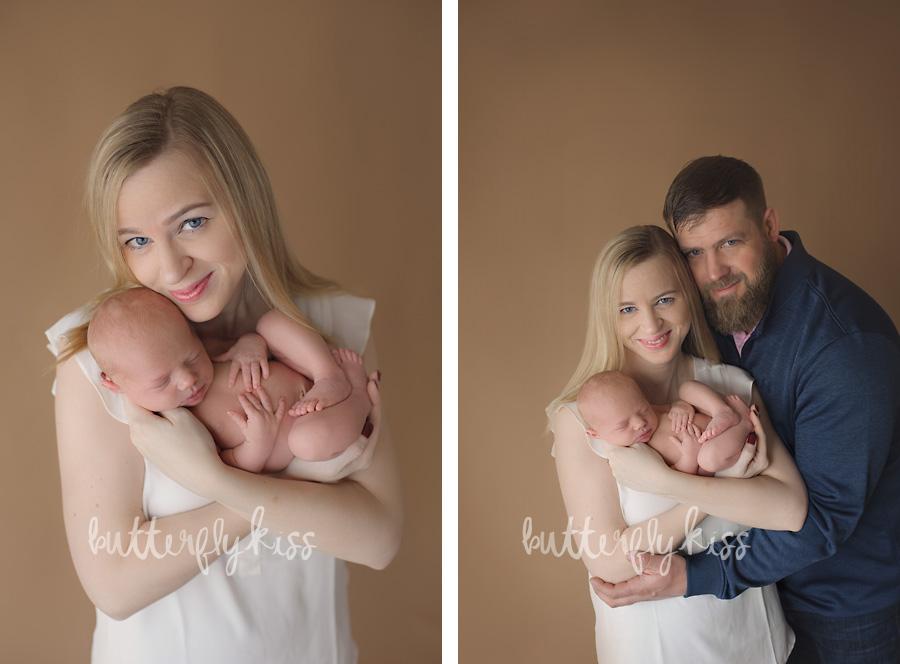 Bonney Lake Newborn Photographer Baby Elliot and mom