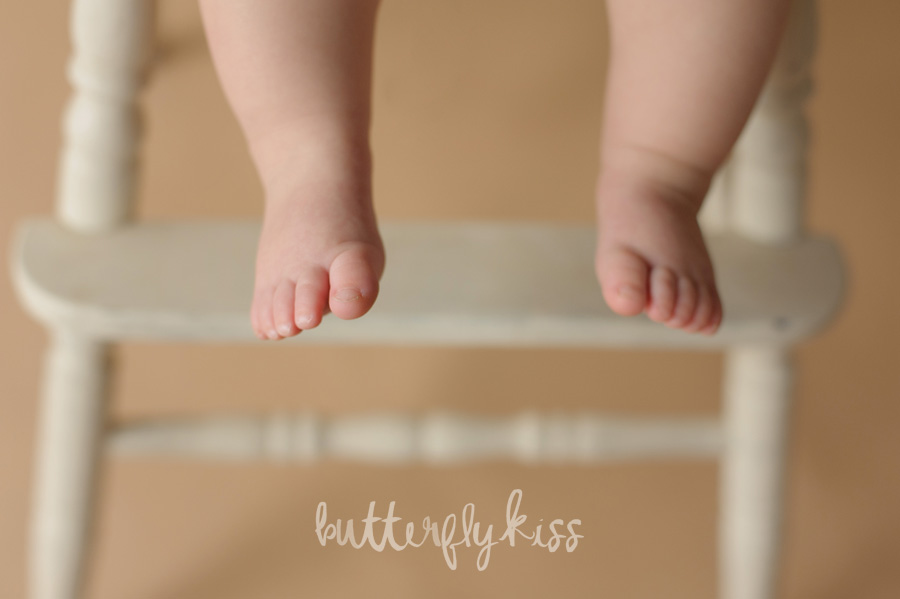Tacoma baby photographer first birthday session Aniston