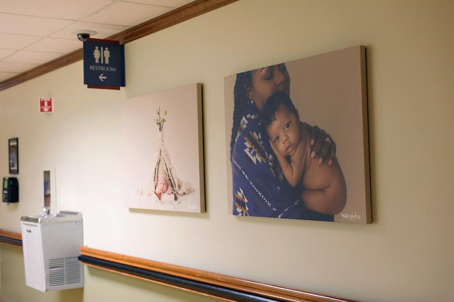 Tacoma newborn photographer St Joseph Hospital