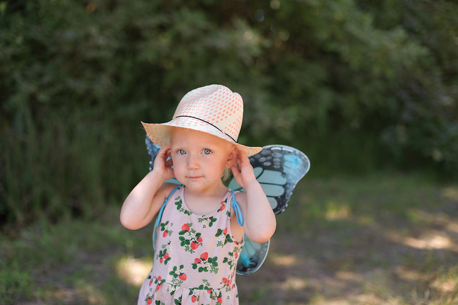 oregon country fair 2017 with kids butterfly wings costume toddler
