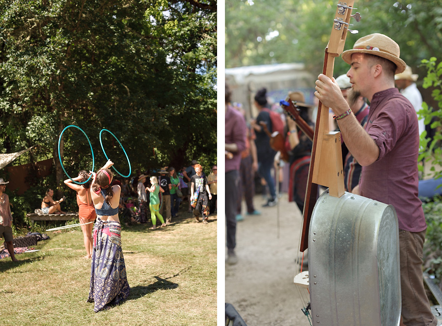 oregon country fair 2017 with kids hula hoops hooping live music homemade instruments wash tub bass