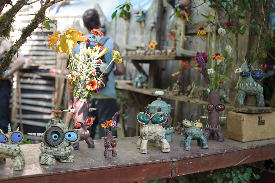 oregon country fair 2017 with kids arts and crafts artisan pottery