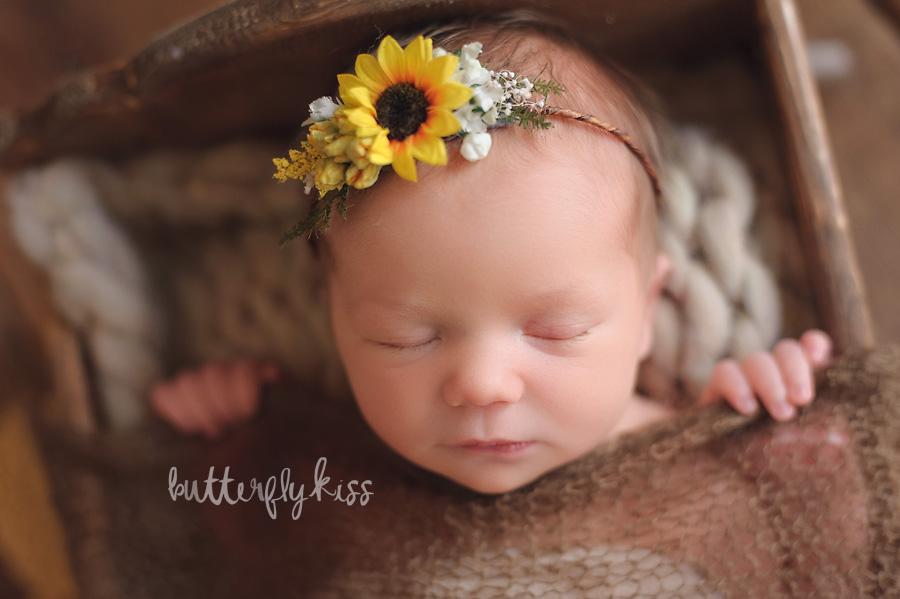 Toes Peeking Newborn Wrap Tutorial Butterfly Kiss Photography Tacoma Newborn Photographer