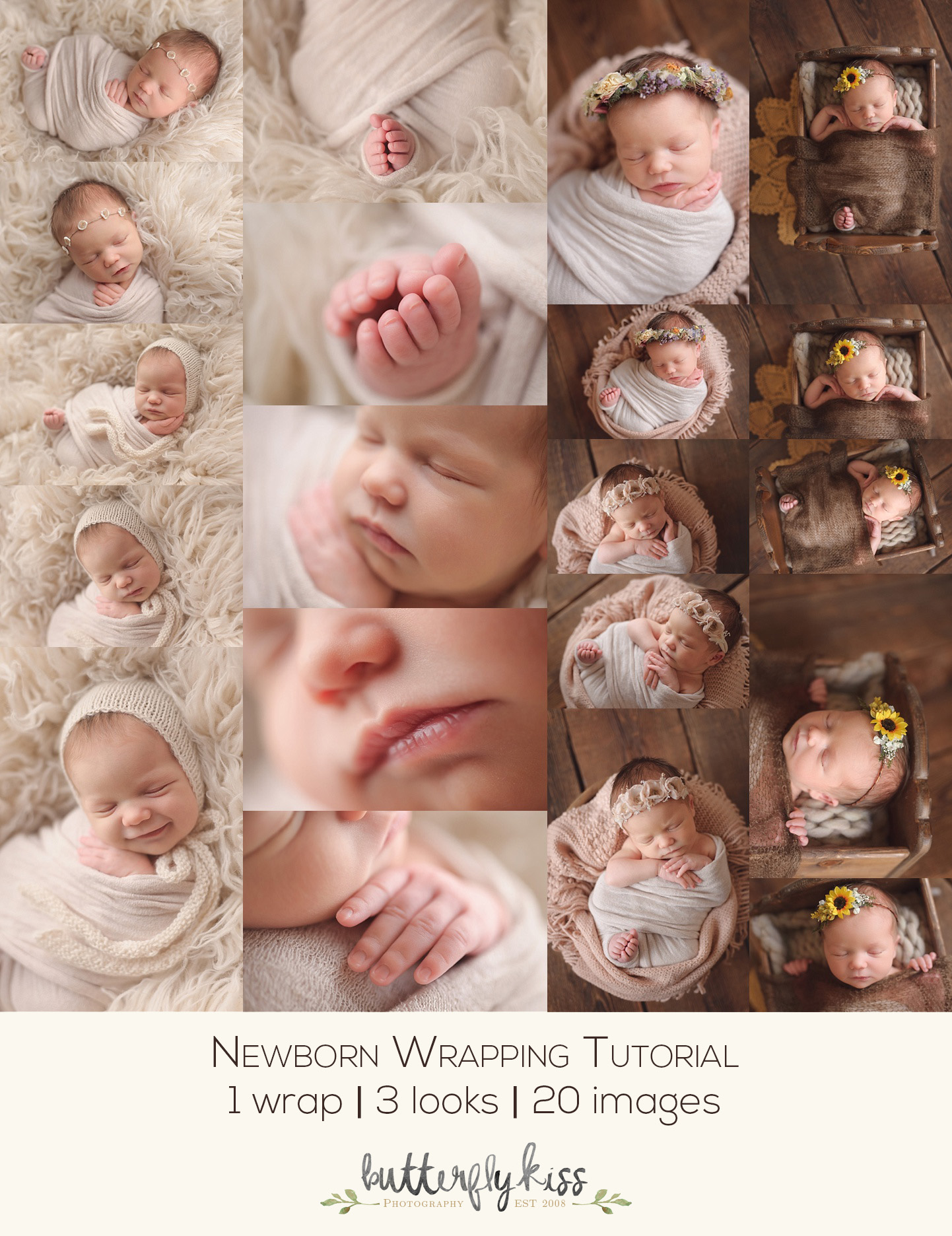 I really hope that this newborn wrap tutorial helps you in your newborn photography i would love to know if youve tried this out