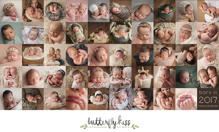 Seattle Tacoma Newborn Photographer Butterfly Kiss Photography babies 2017