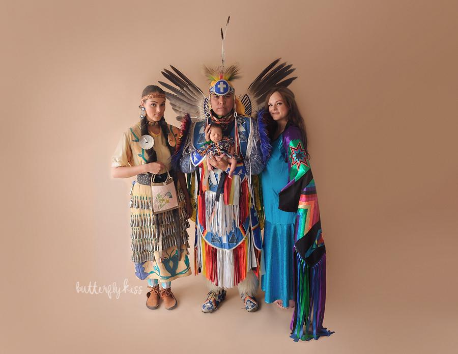 tacoma newborn photographer native american baby session 01