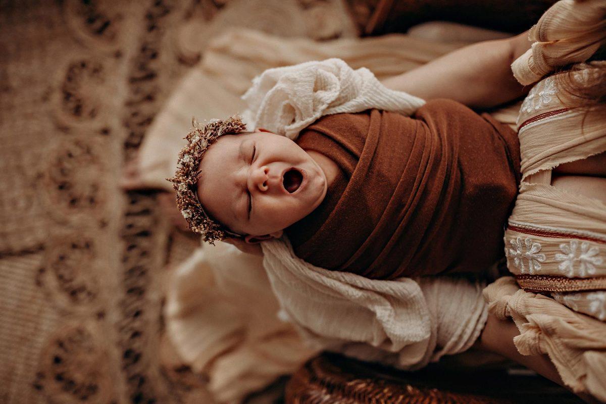 newborn photography session olympia